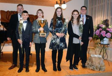 2. November 2019 Junge Musikerinnen und Musiker zeigten ihr Talent am Musikwettbewerb